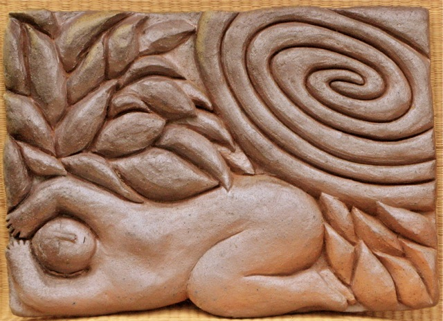 dreaming wall relief